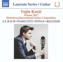 Vojin Kocic - Winner 2017 Heinsberg International Guitar Competition, CD