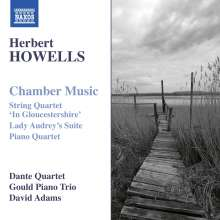 Herbert Howells (1892-1983): Kammermusik, CD