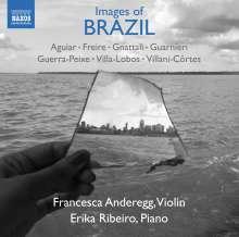 Francesca Anderegg - Images of Brazil, CD