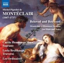 Michel Pignolet de Monteclair (1667-1737): Cantatas a voix seule et avec simfonie, CD