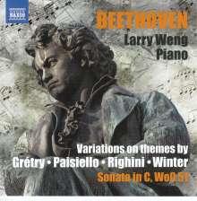 Ludwig van Beethoven (1770-1827): Variationen für Klavier, CD