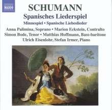 Robert Schumann (1810-1856): Spanisches Liederspiel op.74, CD