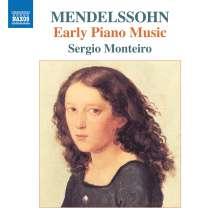 """Felix Mendelssohn Bartholdy (1809-1847): Klavierwerke """"Early Piano Music"""", CD"""