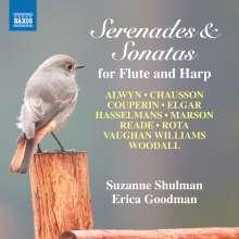 Suzanne Schulman & Erica Goodman - Serenaden und Sonaten für Flöte & Harfe, CD