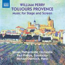 William Perry (geb. 1930): Toujours Provence für Klavier & Orchester, CD