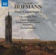 Leopold Hofmann (1738-1793): Flötenkonzerte Vol.3, CD