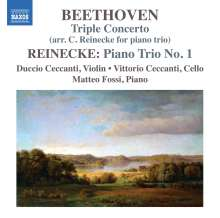 Ludwig van Beethoven (1770-1827): Tripelkonzert op. 56 für Klaviertrio (Arrangiert von Carl Reinecke), CD