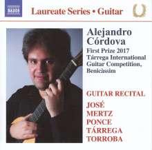 Alejandro Cordova - Guitar Recital, CD