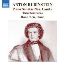 Anton Rubinstein (1829-1894): Klaviersonaten Nr.1 & 2, CD