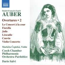 Daniel-Francois-Esprit Auber (1782-1871): Ouvertüren Vol.2, CD