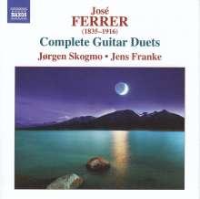 Jose Ferrer (1835-1916): Sämliche Gitarrenduette, CD
