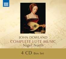 John Dowland (1562-1626): Sämtliche Lautenwerke, 4 CDs