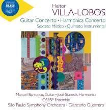 Heitor Villa-Lobos (1887-1959): Harmonicakonzert, CD