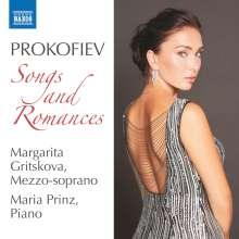Serge Prokofieff (1891-1953): Lieder & Romanzen, CD