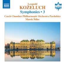 Leopold Kozeluch (1747-1818): Symphonien Vol.3, CD