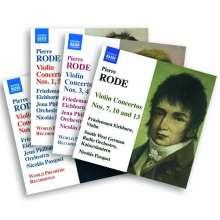 Pierre Rode (1774-1830): Violinkonzerte Nr.1-10,13, 4 CDs