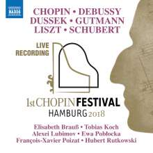 Erstes Chopin-Festival Hamburg 2018, CD