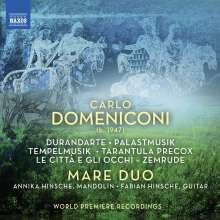 Carlo Domeniconi (geb. 1947): Werke für Mandoline & Gitarre, CD