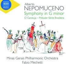 Alberto Nepomuceno (1864-1920): Symphonie g-moll, CD