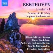 Ludwig van Beethoven (1770-1827): Lieder Vol.1, CD