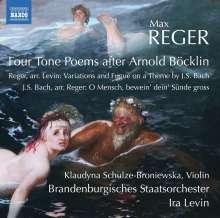 Max Reger (1873-1916): Vier Tondichtungen nach Arnold Böcklin op.128, CD