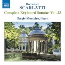 Domenico Scarlatti (1685-1757): Klaviersonaten Vol.23, CD
