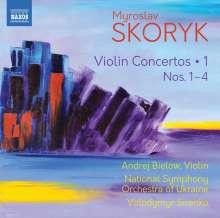 Myroslaw Skoryk (1938-2020): Violinkonzerte Vol.1, CD