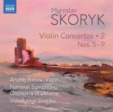 Myroslaw Skoryk (1938-2020): Violinkonzerte Vol.2, CD