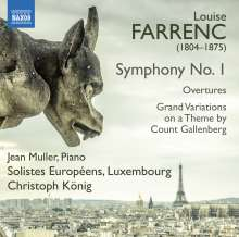 Louise Farrenc (1804-1875): Symphonie Nr.1 c-moll op.32, CD