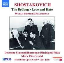 Dmitri Schostakowitsch (1906-1975): The Bedbug op.19 (Bühnenmusik), CD