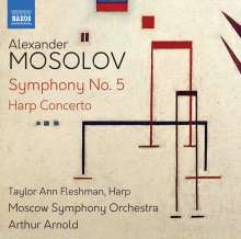 Alexander Mosolov (1900-1973): Symphonie Nr.5, CD