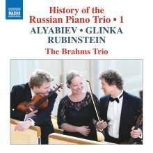 History of the Russian Piano Trio Vol.1, CD