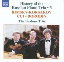 History of the Russian Piano Trio Vol. 3, CD