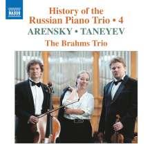 History of the Russian Piano Trio Vol. 4, CD