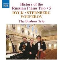 History of the Russian Piano Trio Vol. 5, CD