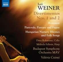 Leo Weiner (1885-1960): Sämtliche Orchesterwerke Vol.3, CD