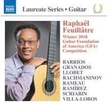 Raphael Feuillatre - Laureate Series Guitar, CD