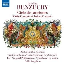 Esteban Benzecry (geb. 1970): Violinkonzert, CD
