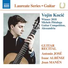 Vojin Kocic - Winnder 2018 Michele Pittaluga, Guitar Competitino, Alessandria, CD