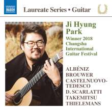 Ji Hyung Park - Winner 2018 Changsha International Guitar Festival, CD