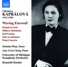 Vitezslava Kapralova (1915-1940): Klavierkonzert d-moll op.7, CD