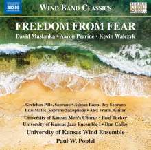 University of Kansas Wind Ensemble - Freedrom from Fear, CD