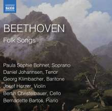 Ludwig van Beethoven (1770-1827): Folk Songs (Volkslieder), CD