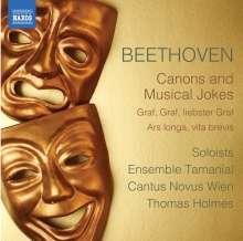 Ludwig van Beethoven (1770-1827): Kanons & musikalische Scherze, CD