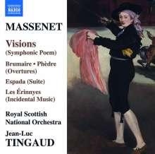 Jules Massenet (1842-1912): Orchesterwerke, CD