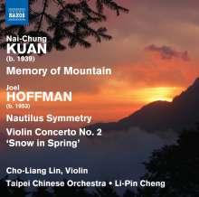 Joel Hoffman (geb. 1953): Nautilus Symmetry, CD