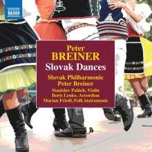 Peter Breiner (geb. 1957): Slowakische Tänze, 2 CDs