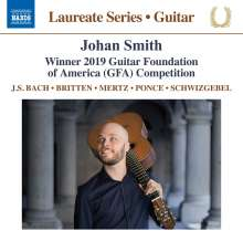 Johan Smith - Winnter 2019 Guitar Foundation of America Competition, CD