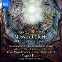 Johann Simon (Giovanni Simone) Mayr (1763-1845): Messa di Gloria e-moll, CD