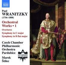 Paul Wranitzky (1756-1808): Orchesterwerke Vol.1, CD